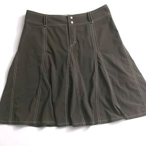 Athleta Brown Skirt/Skort with Pockets - Sz 10